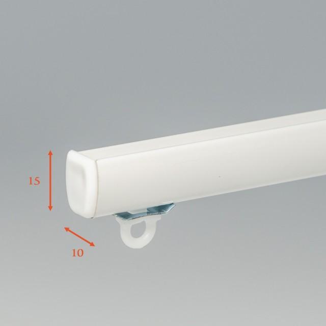 Sample (staaltje) Gordijnrails/ Gordijnroede/Wave rail € 0,00
