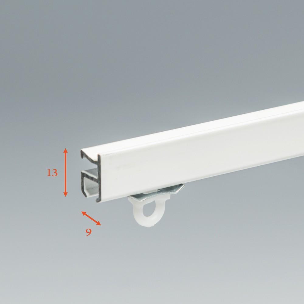 SF Compleet (incl. onderdelen) systeem Basic Gordijnrails € 8,95 per meter