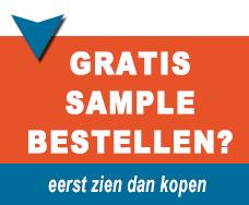 gratis sample aanvragen gordijnrals